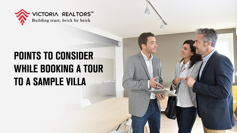 Points to consider while booking a tour to a sample Villa